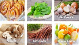 Фрукты и овощи при застое желчи