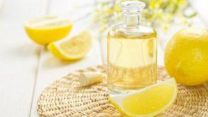 маслом и лимонным соком
