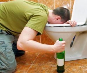 рвота желчью после алкоголя